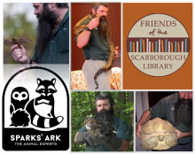 Sparks' Ark, Family Event, Animal Rescue, Friends of the Scarborough Library