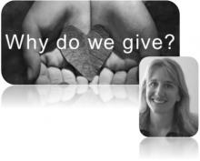 Laura Young, Philanthropy, Why do we give?