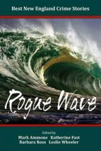 Book jacket of Rogue Wave, one of the books being discussed at the mystery author event.