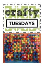 Crafty Tuesdays, Week 3 Weaving, Summer Reading Program