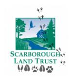 February Staycation, Animal Tracks, Field Journals, Scarborough Land Trust