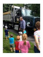 Meet and Greet Story Time with Mike Shaw and a big truck
