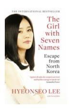 The Girl with Seven Names Book Cover