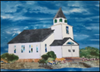 Painting of First Congregational Church